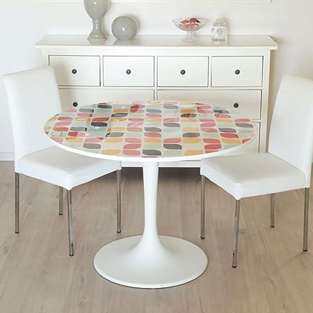 Botta-studio - Mantel Decorativo de Vinilo PVC para Mesa, diseño ...