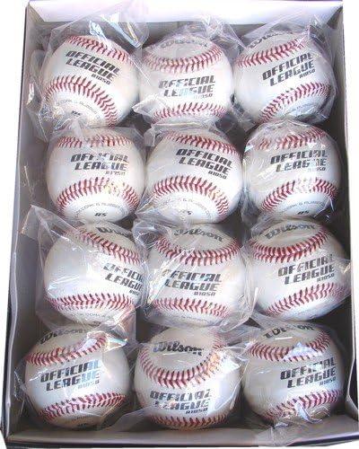 Wilson 1050B oficial Liga práctica pelotas – docena - A1050B ...