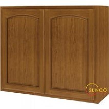 Sunco 36 x 30 roble 2 puerta armario w3630ra-b