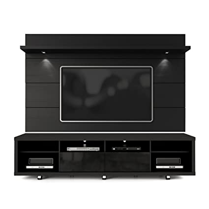 Amazon Com Manhattan Comfort Cabrini Tv Stand And Floating Wall Tv