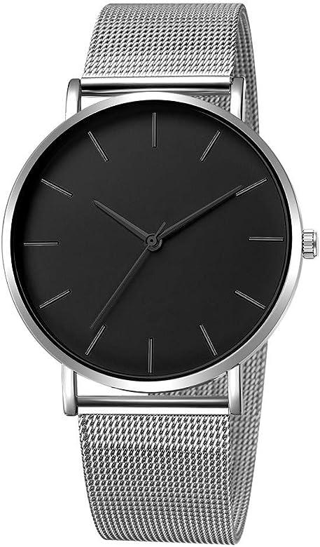 2020 Ultra flach Herren Damen Uhren Armbanduhr 40mm mit Mesh