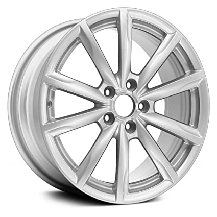 Amazon Com Replacement 10 Spokes All Painted Silver Factory Alloy