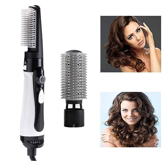 Cepillo de aire caliente, secador y volumizador de cabello One Step de Leegoal, Salon 3 en 1 Cepillo para alisado de cabello recto y con brillo para ...