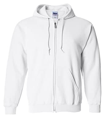 0ed6491b Image Unavailable. Image not available for. Color: Gildan Heavy Blend Men's  Full Zip Hooded Sweatshirt ...