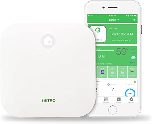 Netro Smart Sprinkler Controller - Runner Up