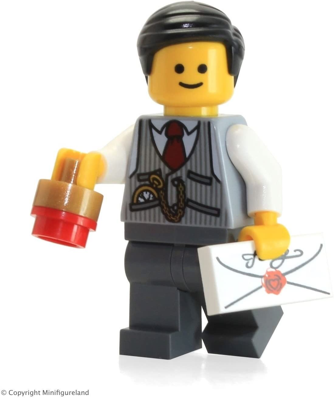 LEGO City Minifigure: Bank Manager (from Set 10251) F