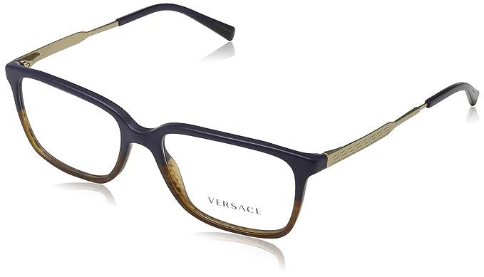 f0a404a5a8a Amazon.com  Versace Men s VE3209 Eyeglasses 55mm  Clothing