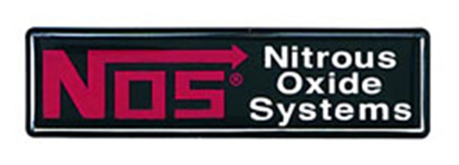 NOS 19150NOS Dash Emblem with NOS Logo