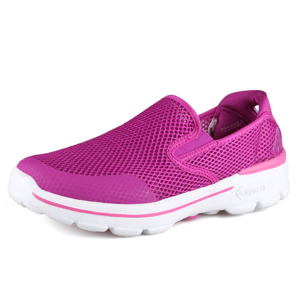 Sunjcs - Zapatillas de Running de Sintético para Hombre 39 EU|Purple(women)