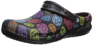 c3a58bd905f0 crocs Unisex-Erwachsene Bistro Graphic Clogs Mehrfarbig (Multi Black 988)  36