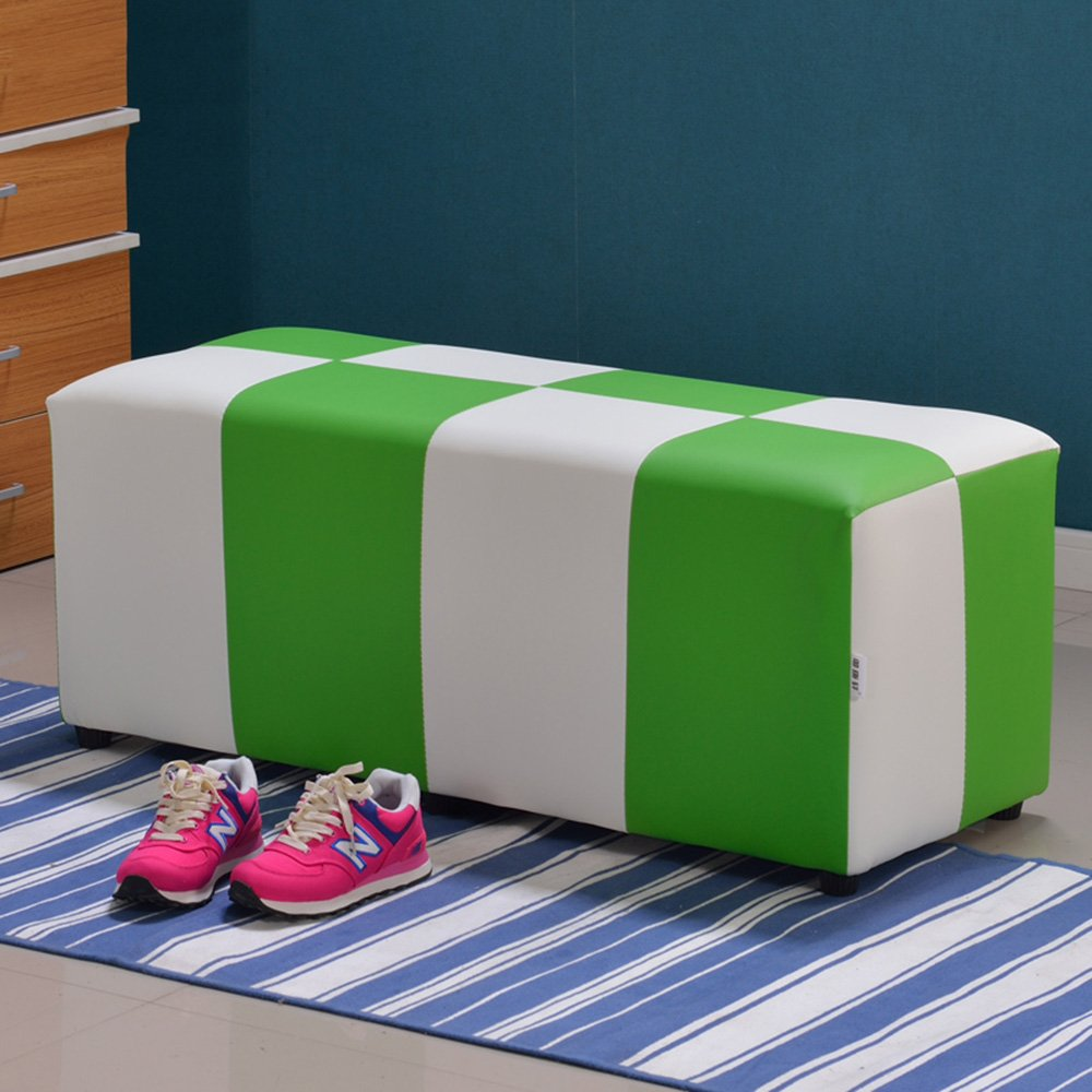 ZHANGRONG- Kreative Schuhe der festen Holzbank Sofa Hocker Bekleidungsgeschäft Schuhhocker European Hocker Fashion Sofa Hocker (Farbe, Größe wahlweise freigestellt) --Lagerhocker ( Farbe : #7 , größe : 80cm ) größe : 80cm )