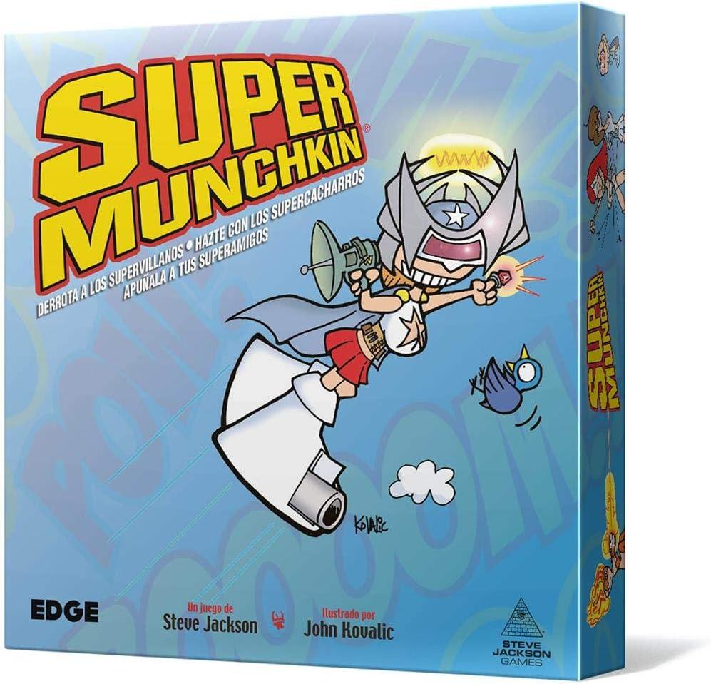 Edge Entertainment- Super Munchkin Nueva Edición, Color (EESJSU01 ...
