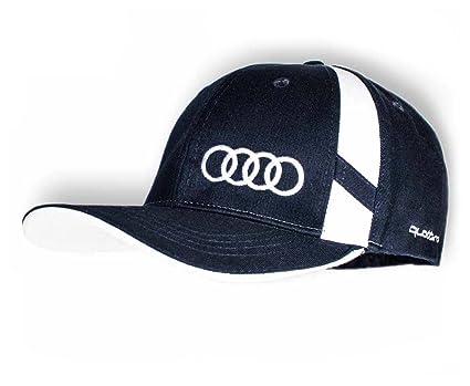 Audi Azul Oscuro tapas Audi Quattro Logo gorros Nueva colección ...