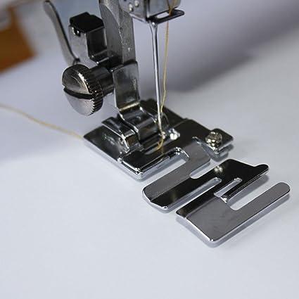 YEQIN 9907-6 - Prensatelas para máquina de coser doméstica, tejido elástico