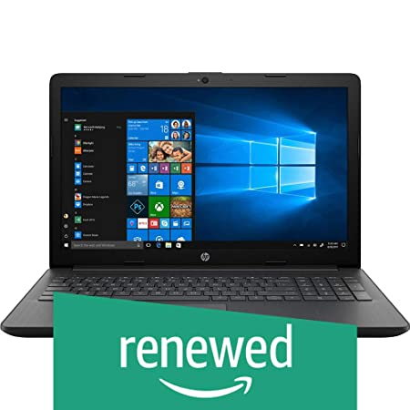 (Renewed) HP 15 Intel Core i3 7th gen 15.6-inch FHD Laptop (4GB/1TB HDD/Windows 10 Home/Sparkling Black /2.04 kg), 15q-ds0006TU Laptops at amazon