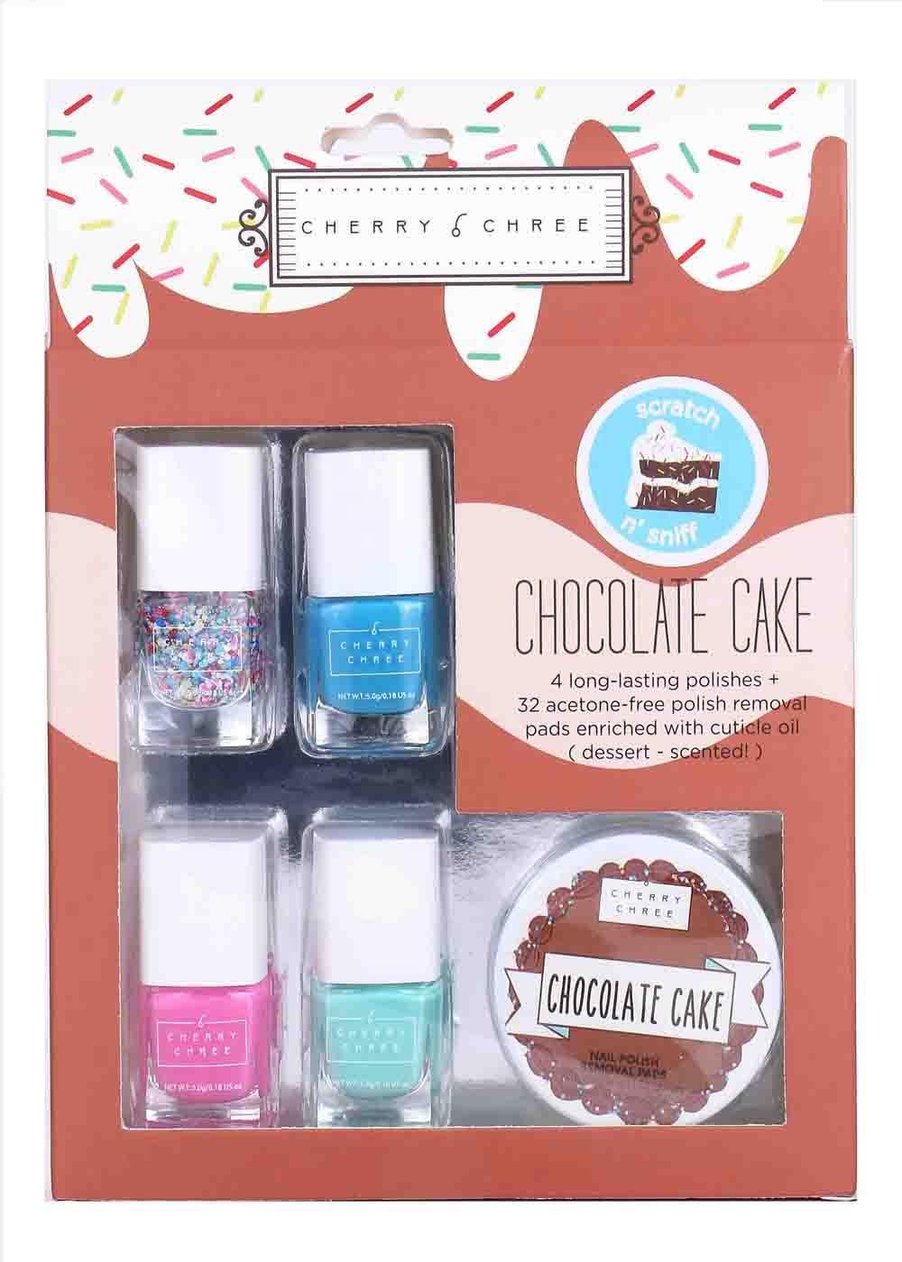 Amazon Com Essential Cute Cherry Chree Nail Polish Gift Set