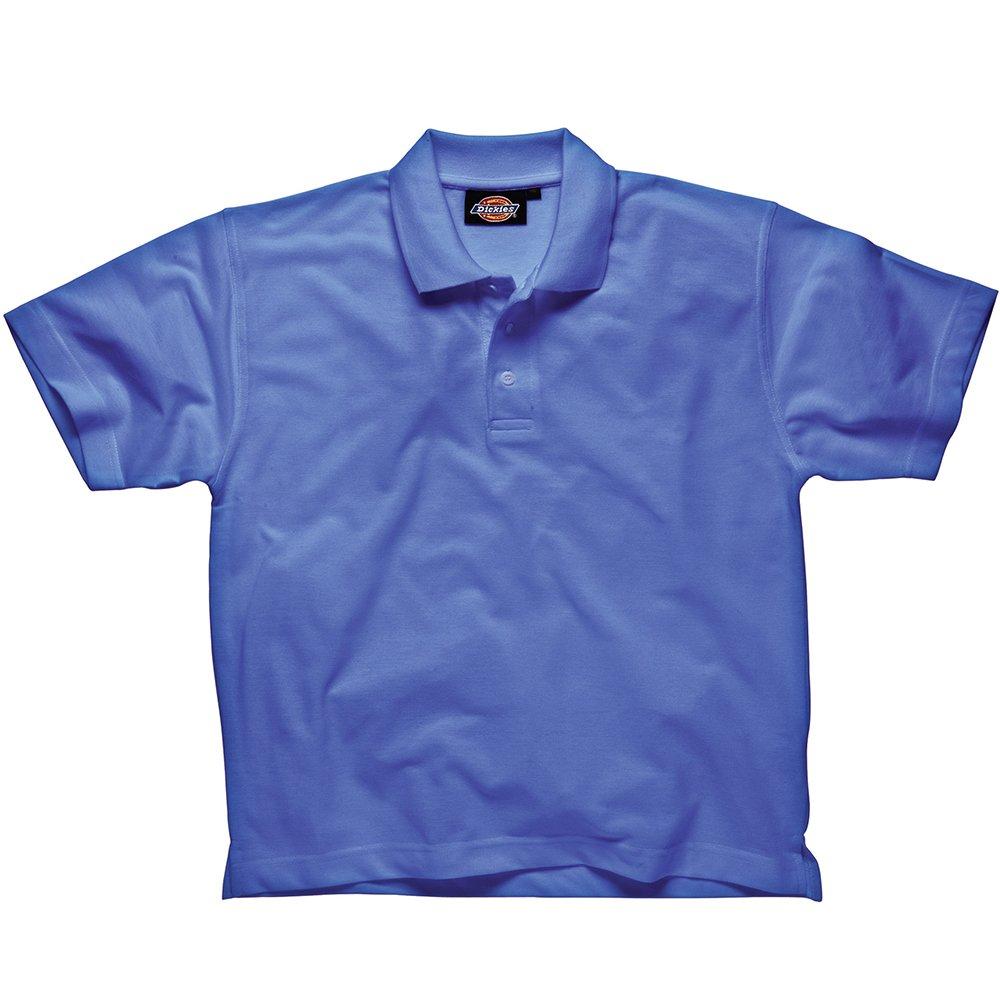 Dickies SH21220 BK M Polo-Shirt Taille M Noir