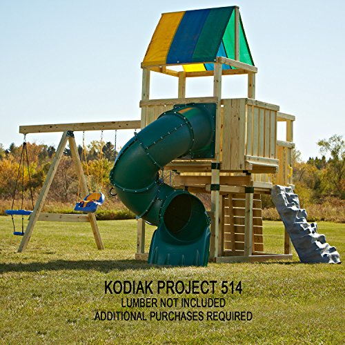 032866050103 - Kodiak Custom Play Set Hardware Kit (wood not included) carousel main 5