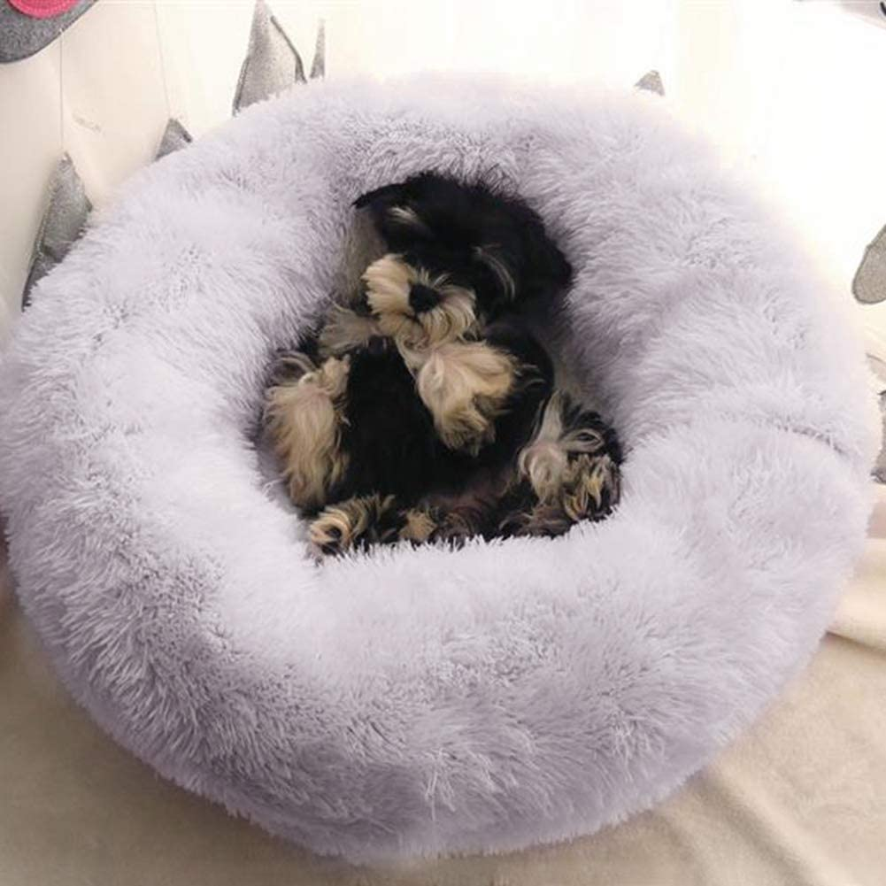NICE Dollhouse Miniature Small White Cat//Dog Bed with Padded Cushion #S4833