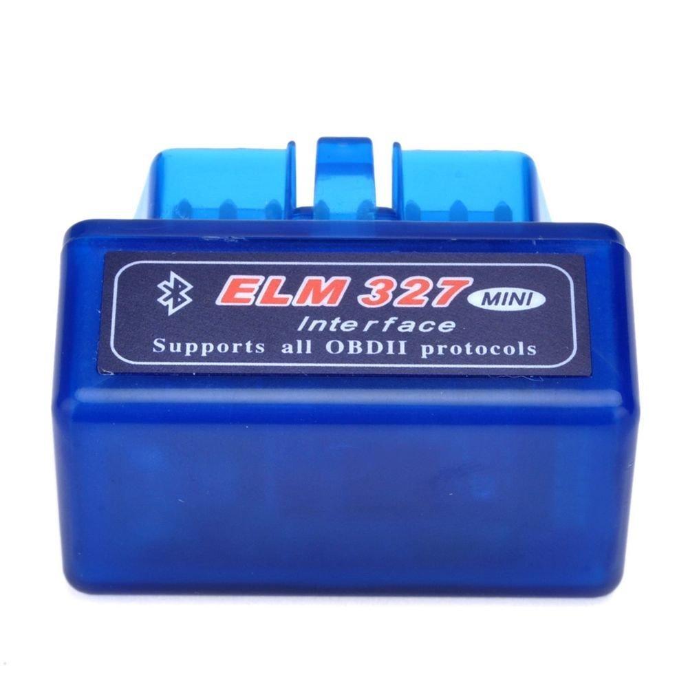 MINI ELM327 Bluetooth V1.5 OBD2 detector de diagn/óstico de fallas del autom/óvil
