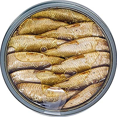 MW polar Brisling Sardines, Smoked in Olive Oil, 14 Count from MW POLAR