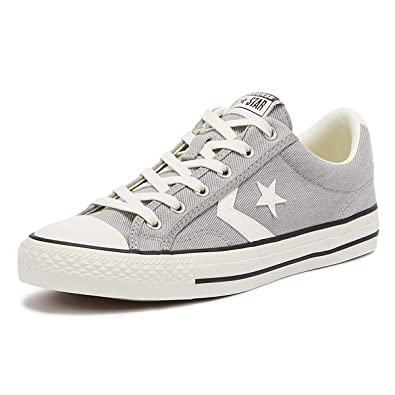 outlet store 64697 29d2d Converse Star Player Ox Homme Baskets Mode Gris  Amazon.fr  Chaussures et  Sacs