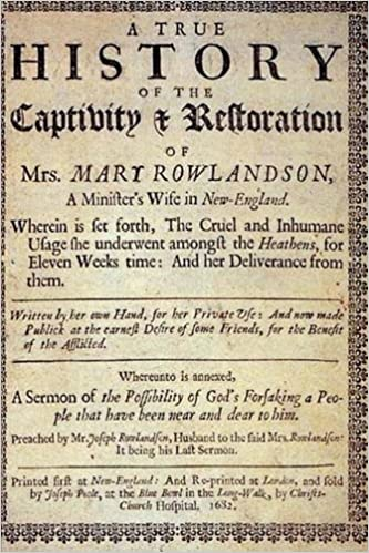 mary rowlandson quizlet