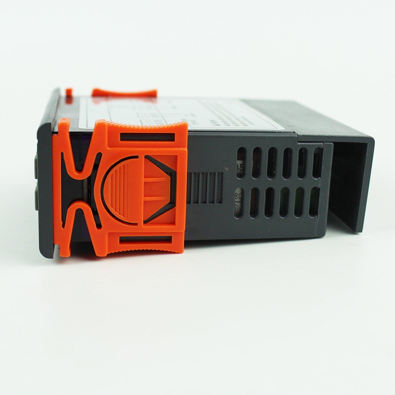Digital Temperature Controller For Freezer Jaybva Stc 1000 Pid Kegerator Using Stc1000 Aquarium Thermostat Meter With Ntc Sensor Yu Thch