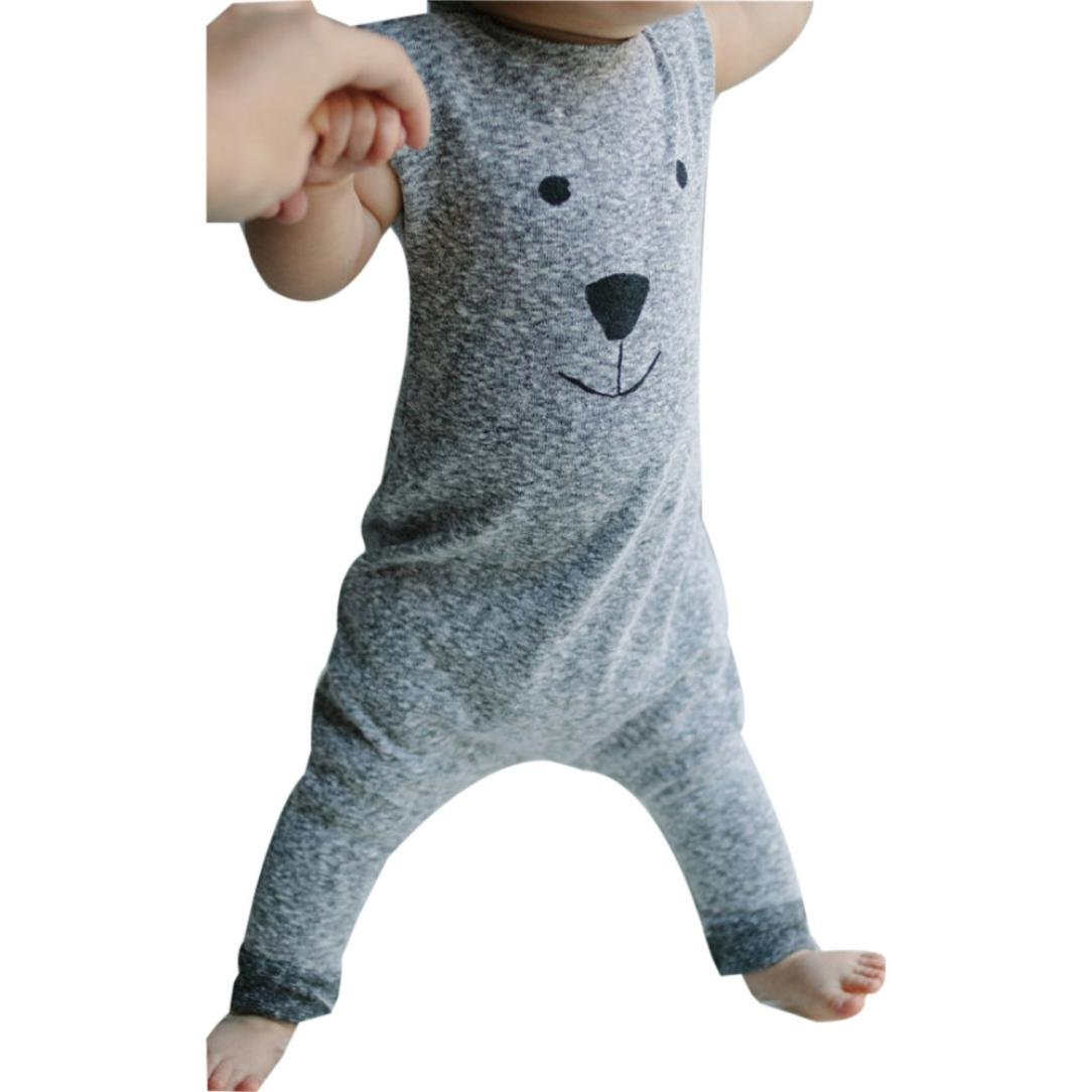 Baby Girl Boy Romper,Matoen Toddler Bear Jumpsuit Playsuit Outfits Clothes