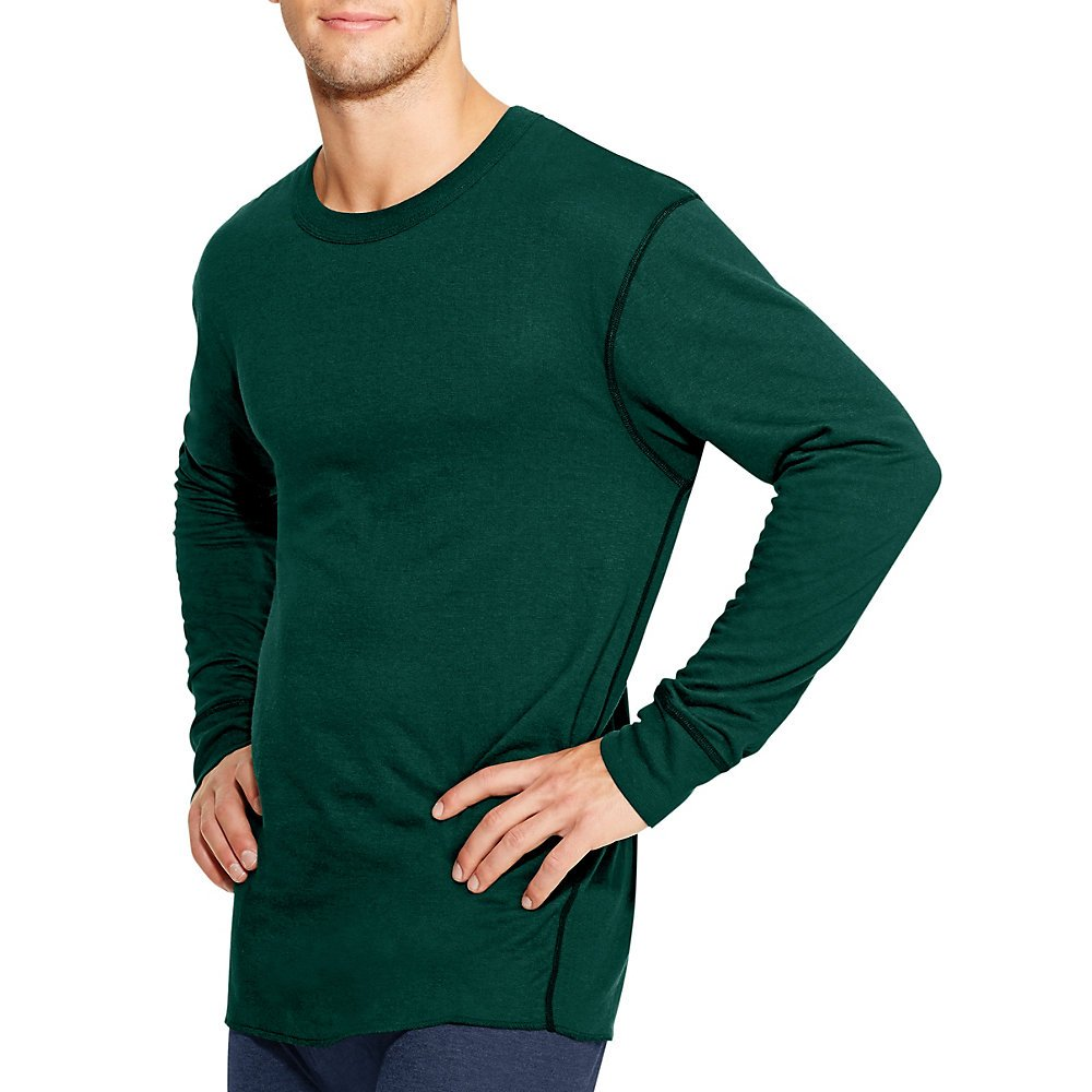Champion Duofold Thermals Mens Long-Sleeve Base-Layer Shirt