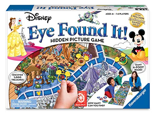 - World of Disney Eye Found It Board Game