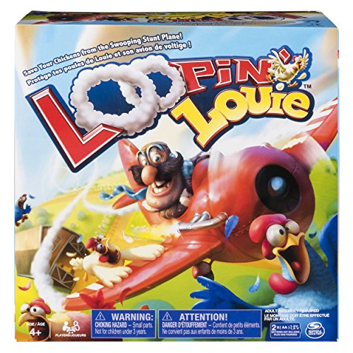Loopin Louie - Interactive Family Board Game for Kids Ages 4 and Up
