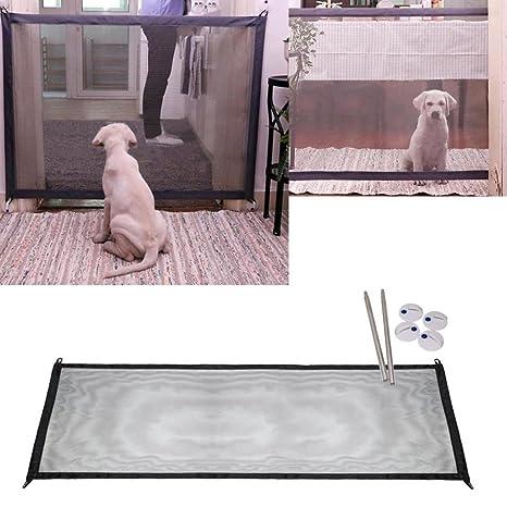 Mcgradyxm 2018 Barrera Escalera Bebe, Barrera de Seguridad Mascotas Perros, Extensible Barrera de Puerta