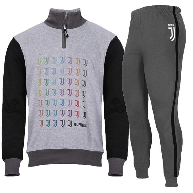 f9a50ec5362050 PLANETEX Pigiama Ragazzo Juve Felpato Abbigliamento Ufficiale Juventus PS  28242-14 Anni-Grigio: Amazon.it: Abbigliamento