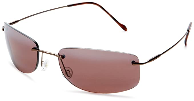 Maui Jim - Gafas de sol - para mujer Metallic Gloss Copper Frame/Maui Rose