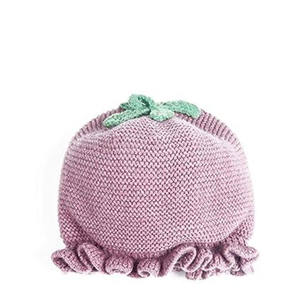 Cappello lavorato a mano cappello bambino cappello lavorato a maglia  autunno e inverno 0-1 1aa733d376fc