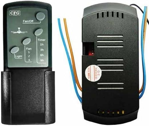 Kit mando a distancia universal Luz Velocita Ventilador Techo ...