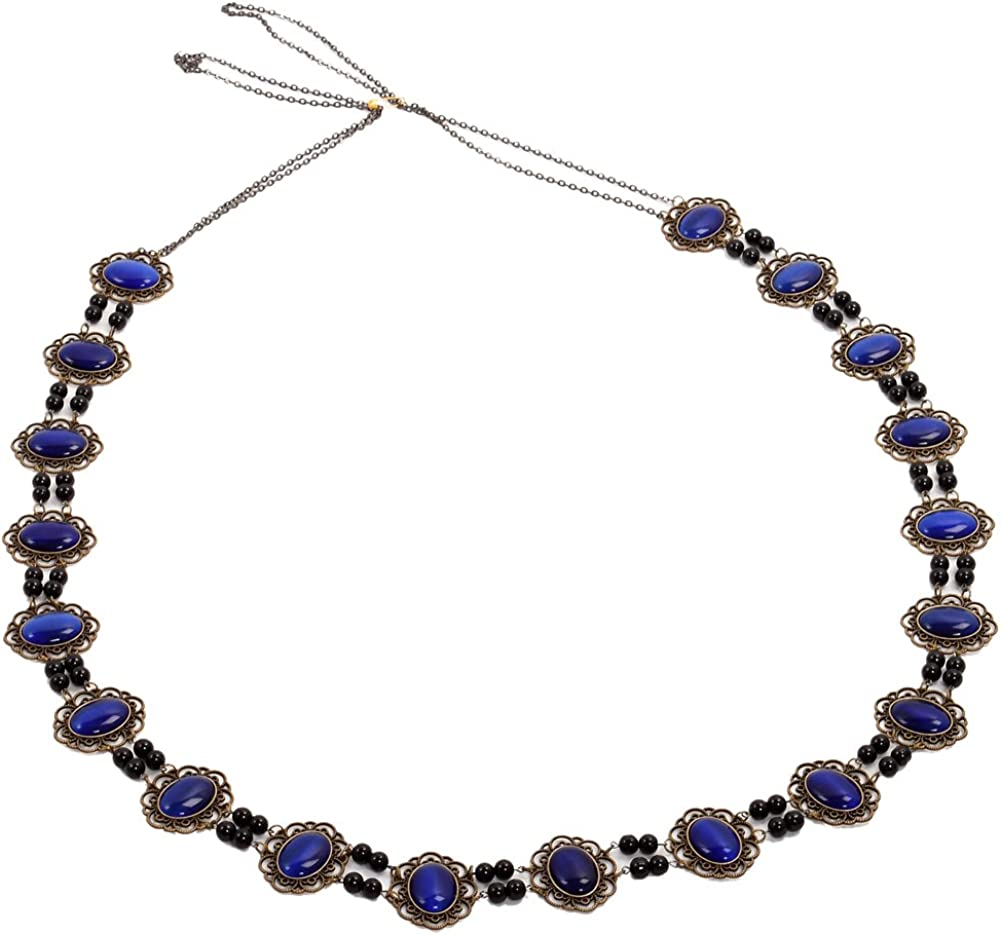 GRACEART Tudor Necklace Chain of Office Livery Collar (Royal Cabochons)