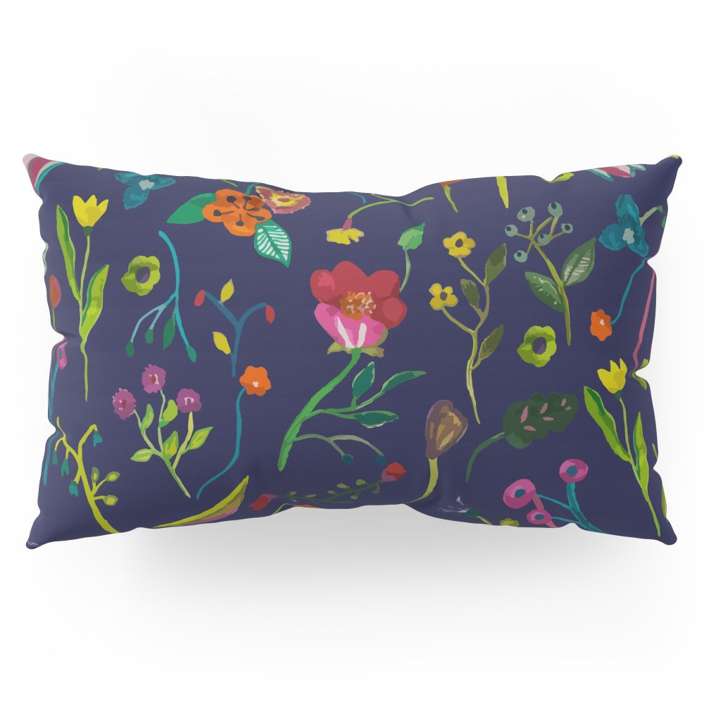 Society6 Floral Love I Pattern Pillow Sham King (20'' x 36'') Set of 2