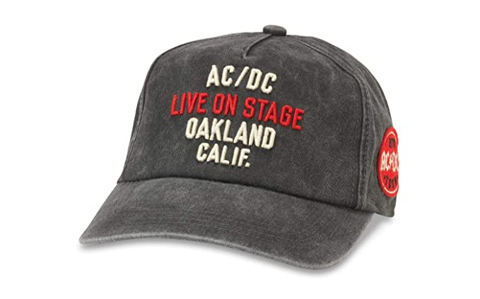 American Needle ACDC Crowd Surf Gorra Ajustable con Cierre a ...