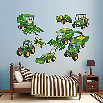John Deere Johnny Tractor Farming Collection Wall Decal 79 X 52in Part 49