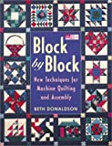 60 machine quilting patterns - Block by Block: New Techniques for Machine Quilting and Assembly