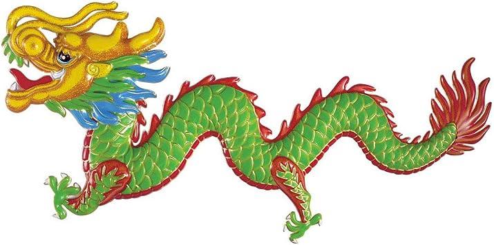 COOLMP – Juego de 12 Adornos de dragón de Año Nuevo, Chino, Talla ...
