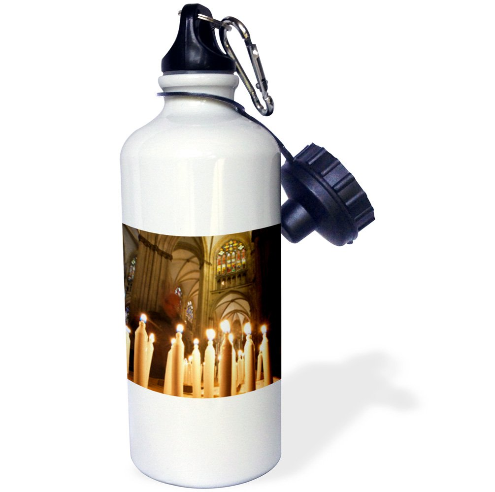 Germany EU10 MDE0167 Michael DeFreitas Sports Water Bottle White 3dRose wb/_137187/_1St Peters Cathedral in Regensburg 21 oz