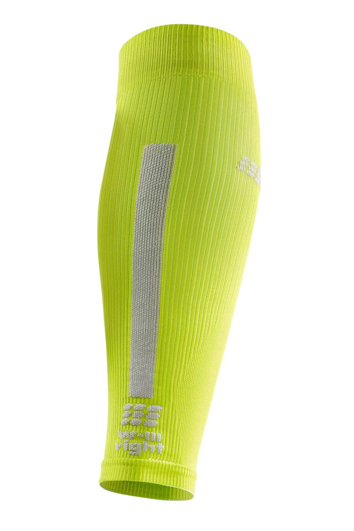 CEP Women's Compression Run Sleeves Calf Sleeves 3.0, Lime/Light II by CEP (Image #3)