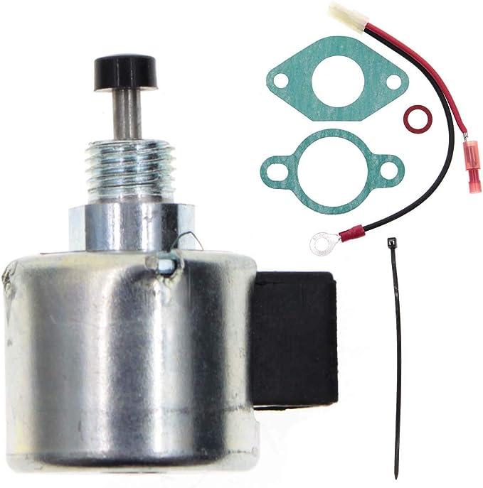 Carburetor Fuel Solenoid Kit Kohler 12-757-33-S 12757-33 12-435-02-S 12-757-09-S
