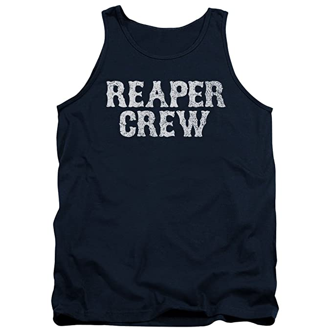3c5bca80d11 Image Unavailable. Image not available for. Color  Sons of Anarchy TV Show Reaper  Crew Adult Tank Top Shirt