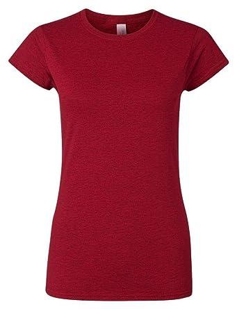 Gildan Womens Softstyle T-Shirt at Amazon Women's Clothing store: