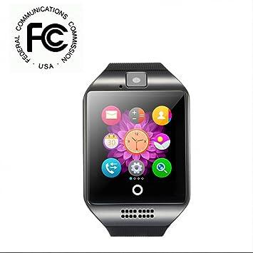 Reloj Inteligente Reloj Deportivo con Reloj Fitness con Control Cámara/ Podómetro/ Monitor de Sueño