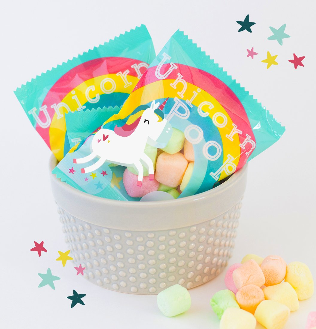 Unicorn Poop Candy - MADE IN THE USA – 12 Party Favors for Kids - Bulk Mini Treat Packs - EASTER BASKET by Unicornucopia (Image #4)